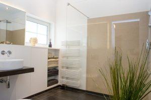 Beispiel unserer Arbeiten der Bad und Wandgestaltung - Malerbetrieb Neubauer aus Ahrensburg