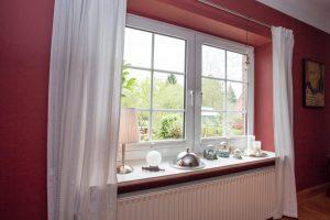 Beispiel unserer Arbeiten der Fenster- Türanstriche Wandgestaltung - Malerbetrieb Neubauer aus Ahrensburg